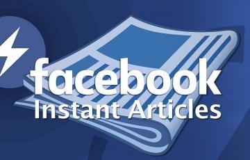 Facebook Instant Articles per mitjans de comunicació